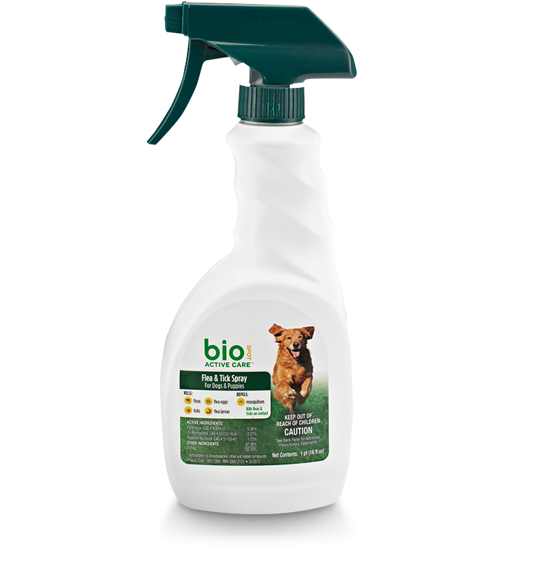 Flea & Tick Spray for Dogs & Puppies